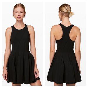 Lululemon Court Crush pleated dress